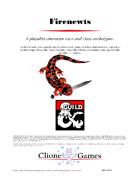 Firenewts - A 5e Player Race and Class Archetypes
