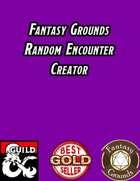 Random Encounter Creator