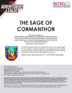 CCC-BMG-16 ELM 1-1 The Sage of Cormanthor