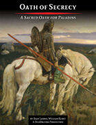 Oath of Secrecy - A Sacred Oath for Paladins