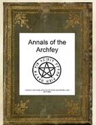 Annals of the Archfey - Warlock Patrons