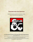 Poisons for 5th Edition