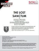 CCC-BMG-17 ELM 1-2 The Lost Sanctum