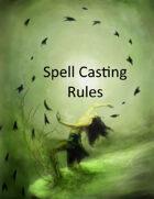 Spell Caster Alternate Rules