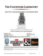 CCC-CIC-02 The Clockwork Laboratory