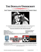 CCC-CIC-03 The Desolate Undercroft