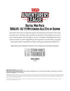 Deluxe Digital Map Pack: DDAL05-18/19 Mysterious Isle/Eye of Xxiphu