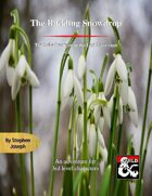 The Budding Snowdrop