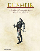 Dhampir - 5e race w/ 3 subraces