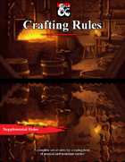 Item Crafting Rules for 5e