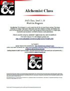Alchemist Full Class