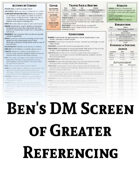 DM Screen of Greater Referencing