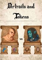 21 Portraits / Icons for your online games