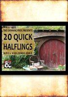 20 Quick Halfling NPCs
