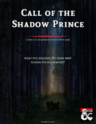 Call of the Shadow Prince - Adventure