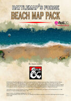 Battlemap's Forge: Beach Map