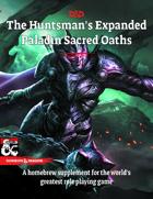 The Huntsman's Expanded Paladin Sacred Oaths