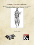 Rogue Archetype: Poisoner