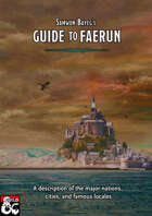 Forgotten Realms: Guide To Faerun (includes the Sword Coast)