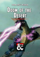 Doom of the Desert - a Storm King's Thunder DM's Resource