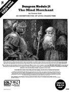 Dungeon Module J4: The Mind Merchant