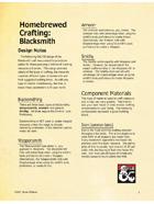 Homebrewed Crafting - Blacksmith