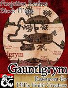 Gauntlgrym - Forgotten Realms Stock Maps