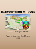 Elmwood Map - High Resolution