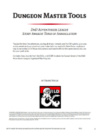 Dungeon Master Tools: DnDAL Story Awards Tomb of Annihilation