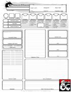 Dyslexia-Assistive Character Sheet