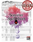 5e Revisited: Sorcerer Spell Sheet (form fillable)