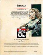 5th Edition Homebrew Shaman V1.1