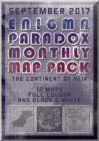 Enigma Paradox Monthly Map Pack: Continent of Veik (Scenario Booklet)