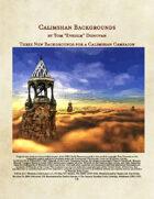 3 Calimshan Backgrounds (5e)