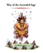 Monk Archetype: Way of the Ascended Sage