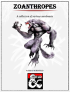 Zoanthropes - A Collection of Various Werebeasts