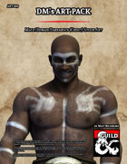 ART009 Male Human Barbarian (Chult)