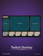 Twitch Overlay - Wood Panels