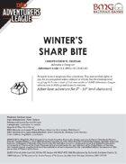 CCC-BMG-21 HULB 2-3 Winter's Sharp Bite