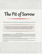 The Pit of Sorrow