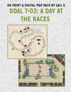 Map Pack: DDAL 7-03 A Day at the Races