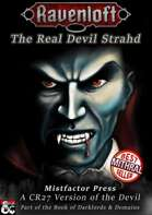 The Real Devil Strahd! - A CR27 Version of the Devil
