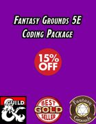 Fantasy Grounds 5E Coding Package