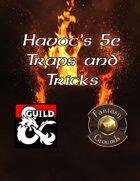 Havocs Traps and Tricks 5E
