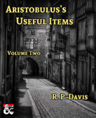Aristobulus's Useful Items Volume 2