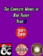 The Complete Works of Rob Twohy Year 2
