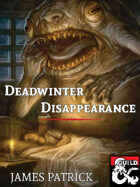 Deadwinter Disappearance - Adventure