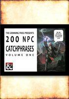 200 NPC Catchphrases