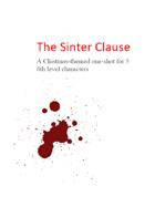 The Sinter Clause, a dark Christmas adventure