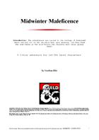 Midwinter Maleficence